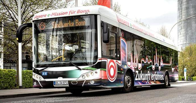 El futuro del autobús, a medio y largo plazo, es la electricidad