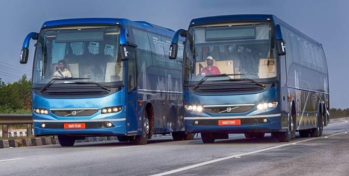 Volvo Buses lanza una nueva gama de autocares en la India
