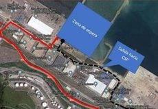 Asotrava critica la nueva zona de espera de camiones en el Puerto de Bilbao