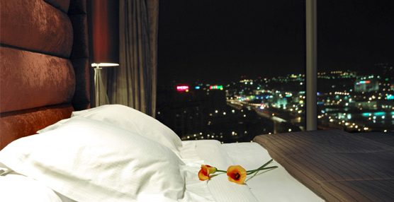 el precio medio de una noche de hotel en espa a se sit a