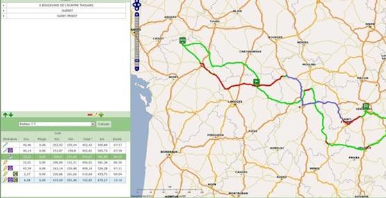Strada lanza Ecotax, un método de cálculo del importe de la ecotasa por Internet para rutas en territorio francés