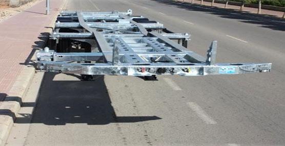 Guillén ultima la entrega de 42 semirremolques porta contenedores para su nuevo modelo PC45HCMET