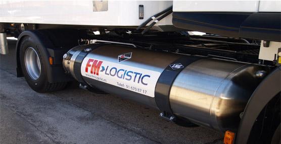 Fm Logistics incorpora a su flota el primer camión propulsado por gas natural comprimido y gas natural licuado