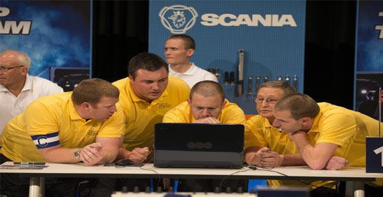 El equipo de Australia se hace con la victoria en el Scania Top Team 2013, celebrado en la ciudad sueca de Södertälje