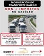 Las asociaciones integrantes del Comité Galego de Transportes se movilizarán el lunes 16 por el céntimo sanitario