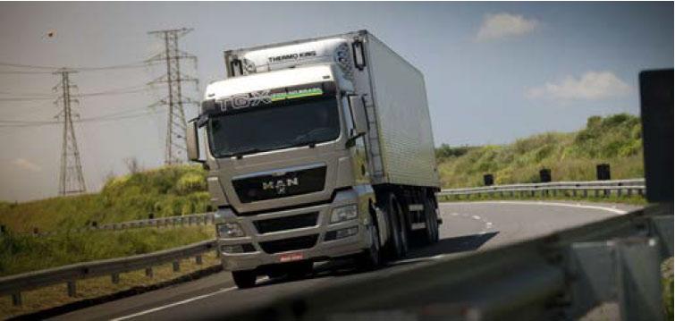Una revista brasileña especializada de transporte vota al modelo TGX de MAN como el 'camión del año 2013'
