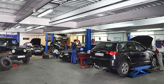 Los talleres de vehículos españoles registran un descenso próximo al 7% en la facturación de su último ejercicio