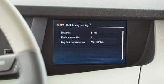 Una aplicación de Volvo Trucks ayuda a los conductores de camiones en el ahorro de combustible