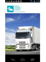 Truck Parking Europe, aplicación que busca espacios de aparcamiento para camiones, disponible para Android
