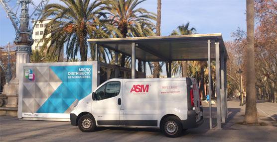 ASM se suma al proyecto 'Micro distribución de mercancias' impulsado por el Ayuntamiento de Barcelona