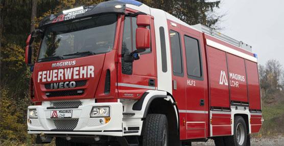 Iveco Magirus muestra sus innovaciones para la lucha contra incendios forestales en el salón Sicur 2014