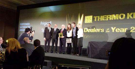 Frigicoll, concesionario de Thermo King para España y Portugal, recibe el Customer Satisfaction Award 2013