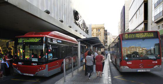 La EMT de Valencia traslada a más de 7,3 millones de viajeros en sus autobuses durante el mes de febrero