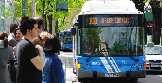 La EMT de Madrid modifica la cabecera de las líneas 5 y 150 de forma indefinida porlas obras en plaza de Canalejas