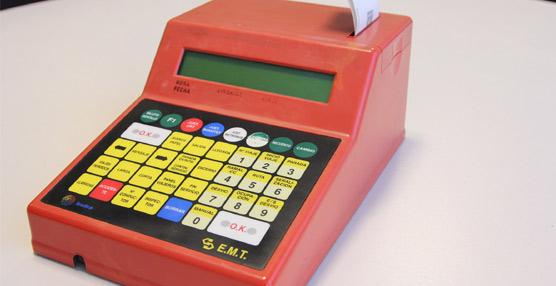 Se ponen en venta las primeras máquinas digitales expendedoras con que contó la flota de la EMT Madrid