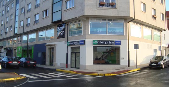La nueva oficina de enterprise rent a car en la provincia for Oficinas enterprise