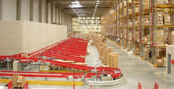 En 2013 el volumen de negocio generado por el sector logístico español fue de 3.600 millones de euros, un 2% más que en 2012