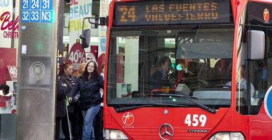 Parados de larga duración, menores de 25 y mayores de 55 años pagarán un euro por el abono mensual de bus en Zaragoza