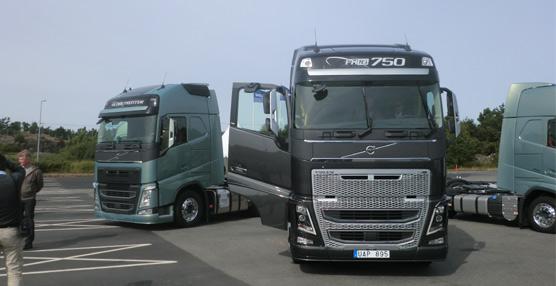 El grupo Volvo ganó 126 millones de beneficio neto en el primer trimestre de 2014