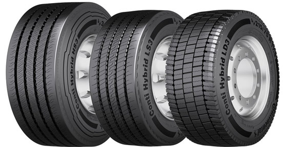 Continental presenta su nueva gama de neumáticos para transporte regional y rápido en el CV Show de Birmingham
