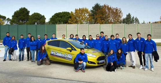 """Los Cursos Prácticos de Seguridad Vial """"Ford, Conduce tu Vida"""" formarán a 300 jóvenes de la Comunidad Valenciana"""