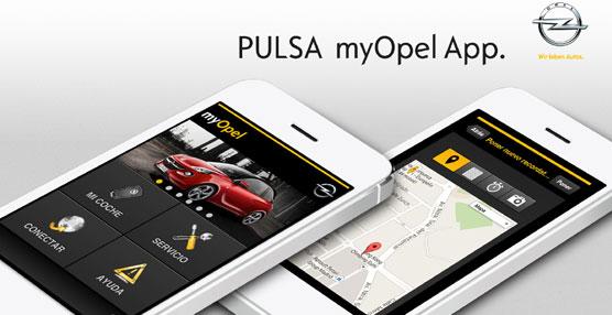 Opel lanza la aplicación myOpel App con múltiples funcionalidades gratuitas para sus clientes