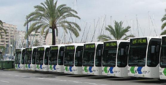 La EMT de Palma de Mallorca instala otras 30 mamparas de protección en la cabina de los conductores