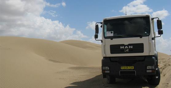 A temperaturas extremas: TGS de MAN en la construcción de carreteras para la extracción de gas y petróleo