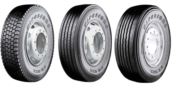 Nueva generación de neumáticos para camión de dirección, tracción y trailer del fabricante Firestone