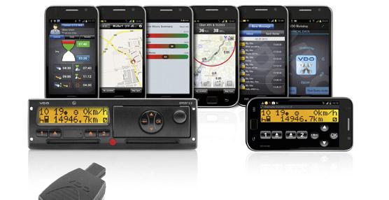VDO lanza un nuevo servicio de descarga remota de los datos del tacógrafo digital al 'smartphone'
