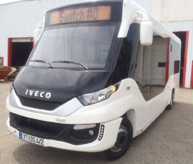 Indcar y Vehixel presentan la nueva carrocería Cytios Euro 6 en el salón Transport Public de París