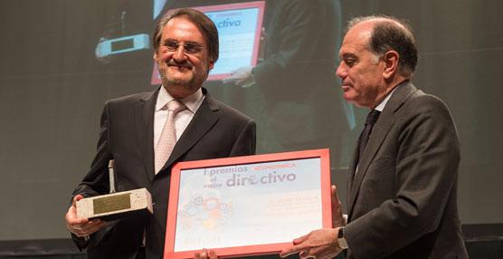 El presidente de Iveco España, Jaime Revilla, premio de honor de los 'I Premios Castilla y León al Mejor Directivo'