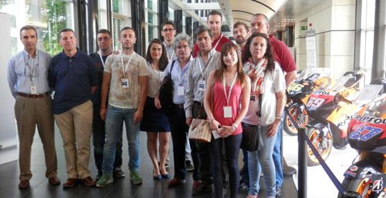 Alumnos del Máster en Dirección y Gestión de Empresas de Transporte visitan el Centro Tecnológico de REPSOL