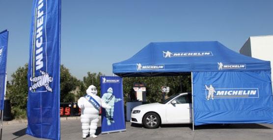 Michelin y Repsol comienzan una nueva edición de la Campaña de Revisión de Neumáticos