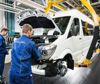 La nueva Mercedes-Benz Sprinter celebra su primer año de producción superando los dos millones de unidades vendidas