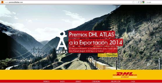 Hasta el 25 de septiembre puede presentarse las solicitudes a los premios ATLAS a la exportación 2014 de DHL