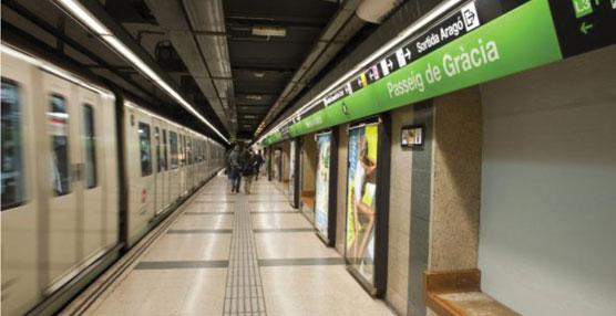 Passeig de Gràcia de la línea 3 del metro de Barcelona se convierte en una estación energéticamente sostenible