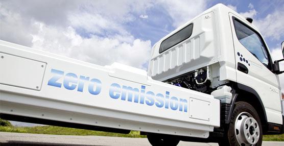 Fuso pone a prueba con clientes ocho unidades de Canter eléctrico en Portugal, con 100 km de autonomía