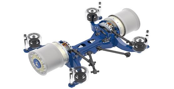 ZAwheel - Ziehl-Abegg presenta su segunda generación de motores eléctricos en el Salón Internacional IAA