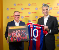 DHL se convierte en el Socio Platino y socio oficial para la logística internacional del Bayern Munich