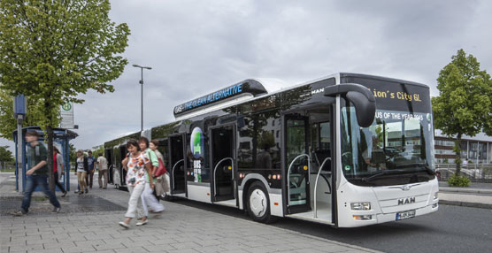 "El Lion's City GL CNG de MAN es elegido ""Bus of the year 2015"" por el jurado del Bus Euro Test de este año"