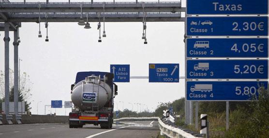 Portugal penaliza a los transportistas españoles por los peajes impagados