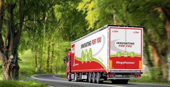 El fabricante Fliegl lleva hasta Hanóver su nueva generación de lonas correderas aligeradas