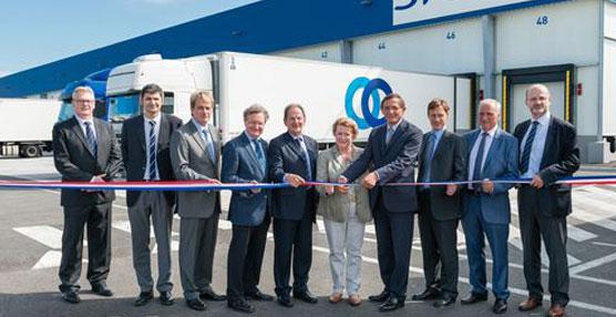 STEF inaugura su plataforma de transporte de Bischheim (Bas-Rhin), el primer Centro del grupo con certificación NF HQE™
