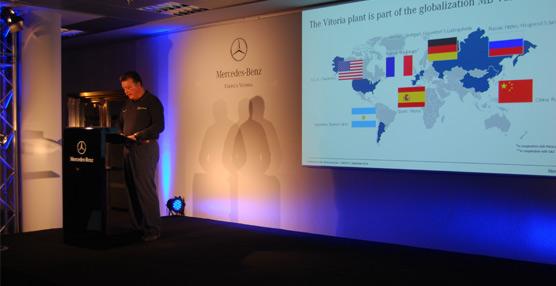 Mercedes-Benz invierte 190 millones para mejorar las áreas de carrocería bruta, pintura y montaje en su fábrica de Vitoria