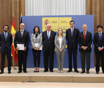Alsa recibe la Placa al Mérito del Transporte Terrestre otorgada por el Ministerio de Fomento