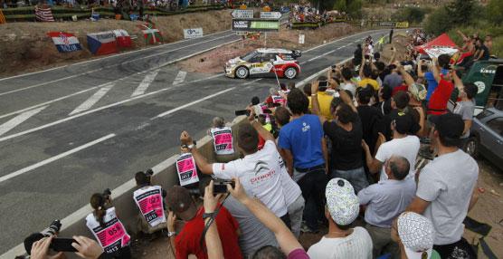 El Rally RACC-Rallye de España cuenta con un itinerario mixto con tramos de tierra y asfalto