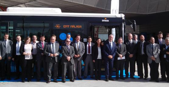 Iveco Bus presenta en Málaga el primer autobús Urbanway Euro 6para nuestro país