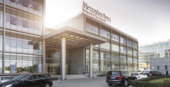 Gran inauguración del Centro de Investigación y Desarrollo de Mercedes-Benz en Beijing, China