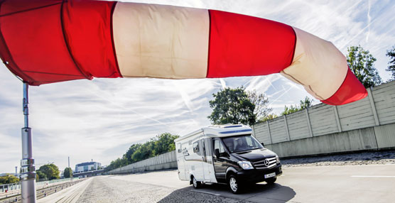 Mercedes Benz y Hymer presentan Hymer ML-T, la primera autocaravana con Crosswind Assist